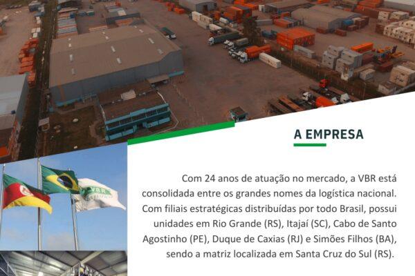 VBR Logística reconhecidos pela eficiência operacional e excelência no atendimento